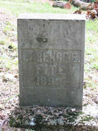 FITE, LAWRENCE E - Brown County, Ohio | LAWRENCE E FITE - Ohio Gravestone Photos