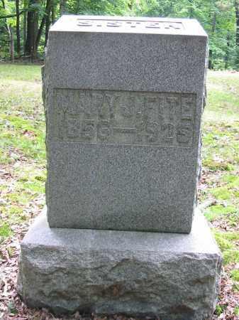 FITE, MARY J - Brown County, Ohio | MARY J FITE - Ohio Gravestone Photos