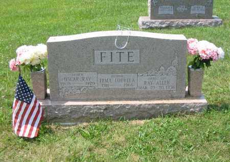 FITE, RAY ALLEN - Brown County, Ohio   RAY ALLEN FITE - Ohio Gravestone Photos