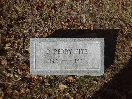 FITE, O  PERRY - Brown County, Ohio | O  PERRY FITE - Ohio Gravestone Photos