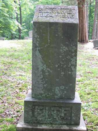 FITE, SARAH E - Brown County, Ohio | SARAH E FITE - Ohio Gravestone Photos