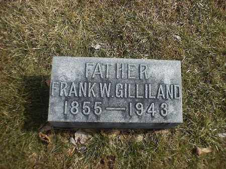 GILLILAND, FRANK  W - Brown County, Ohio | FRANK  W GILLILAND - Ohio Gravestone Photos