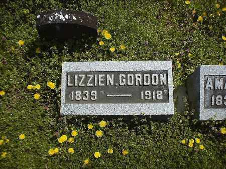 GORDON, LIZZIE N - Brown County, Ohio | LIZZIE N GORDON - Ohio Gravestone Photos