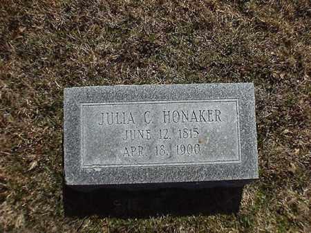 HONAKER, JULIA  C - Brown County, Ohio | JULIA  C HONAKER - Ohio Gravestone Photos