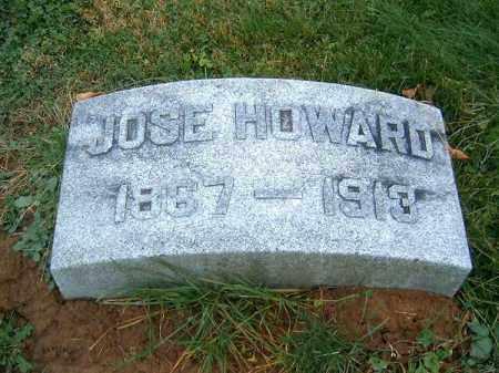 HOWARD, JOSE - Brown County, Ohio   JOSE HOWARD - Ohio Gravestone Photos
