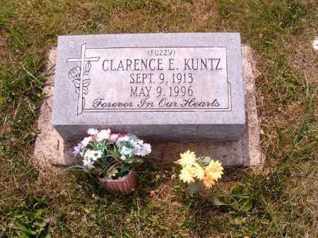 KUNTZ, CLARENCE  E - Brown County, Ohio   CLARENCE  E KUNTZ - Ohio Gravestone Photos