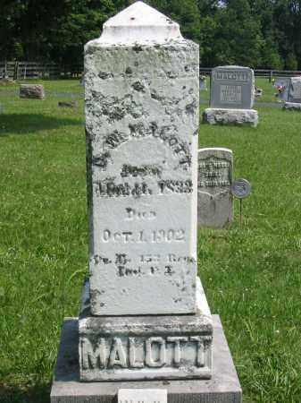 MALOTT, DECATUR WASHINGTON - Brown County, Ohio | DECATUR WASHINGTON MALOTT - Ohio Gravestone Photos