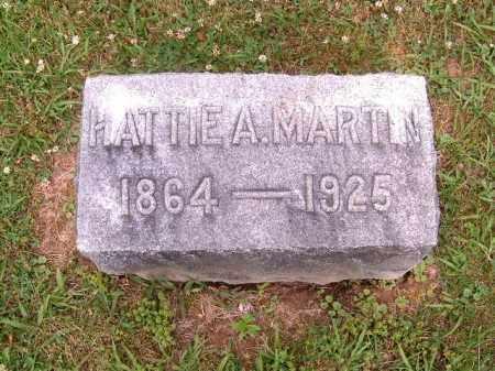 MARTIN, HATTIE  A - Brown County, Ohio   HATTIE  A MARTIN - Ohio Gravestone Photos