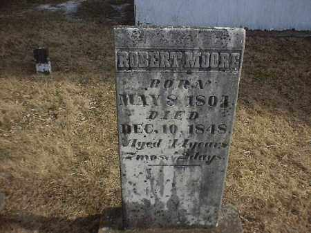 MOORE, ROBERT - Brown County, Ohio   ROBERT MOORE - Ohio Gravestone Photos