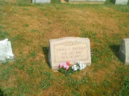 PARKER, ANNA   F - Brown County, Ohio   ANNA   F PARKER - Ohio Gravestone Photos
