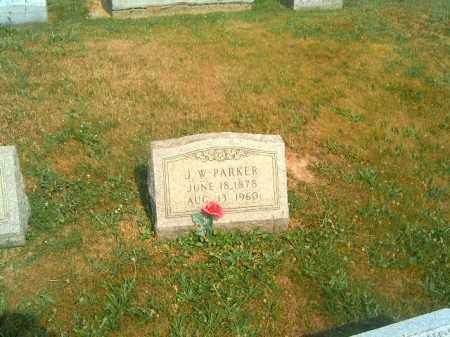 PARKER, J  W - Brown County, Ohio   J  W PARKER - Ohio Gravestone Photos