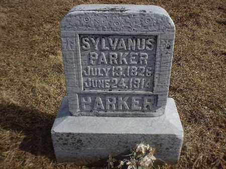 PARKER, SYLVANUS - Brown County, Ohio | SYLVANUS PARKER - Ohio Gravestone Photos