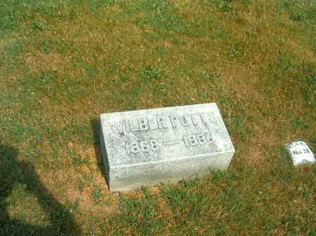 POTTS, WILBUR - Brown County, Ohio | WILBUR POTTS - Ohio Gravestone Photos
