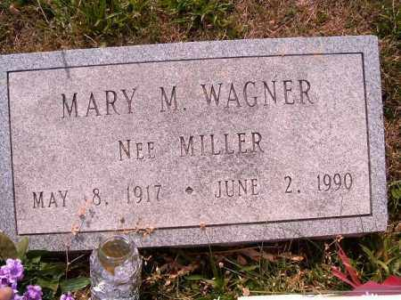 MILLER WAGNER, MARY  M - Brown County, Ohio   MARY  M MILLER WAGNER - Ohio Gravestone Photos