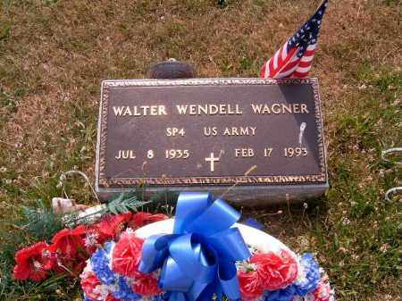 WAGNER, WALTER  WENDELL - Brown County, Ohio   WALTER  WENDELL WAGNER - Ohio Gravestone Photos
