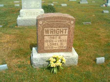 WRIGHT, LOREL B - Brown County, Ohio   LOREL B WRIGHT - Ohio Gravestone Photos