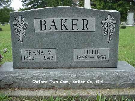 DUCKETT BAKER, LILLIE - Butler County, Ohio   LILLIE DUCKETT BAKER - Ohio Gravestone Photos