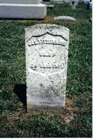 FITZSIMMONS, JAS. - Butler County, Ohio   JAS. FITZSIMMONS - Ohio Gravestone Photos