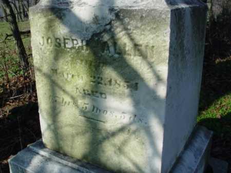 ALLEN, JOSEPH - Carroll County, Ohio | JOSEPH ALLEN - Ohio Gravestone Photos