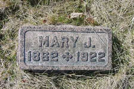 ALLEN, MARY J. - Carroll County, Ohio | MARY J. ALLEN - Ohio Gravestone Photos