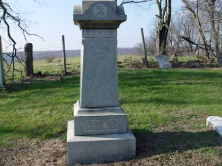 AMOS, MONUMENT - Carroll County, Ohio | MONUMENT AMOS - Ohio Gravestone Photos