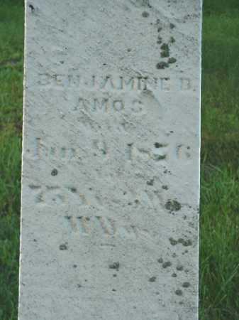 AMOS, BENJAMINE B. - Carroll County, Ohio | BENJAMINE B. AMOS - Ohio Gravestone Photos