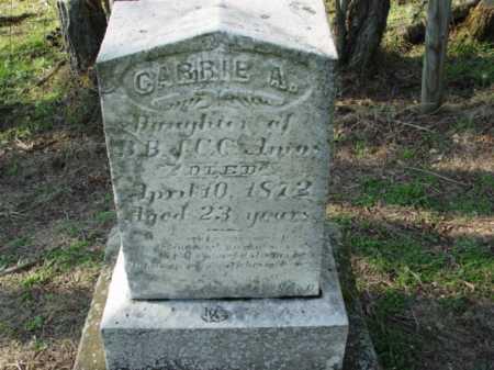 AMOS, CARRIE A. - Carroll County, Ohio   CARRIE A. AMOS - Ohio Gravestone Photos
