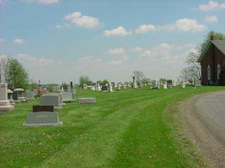 AUGUSTA CHRISTIAN, CHURCH AND CEMETERY - Carroll County, Ohio | CHURCH AND CEMETERY AUGUSTA CHRISTIAN - Ohio Gravestone Photos