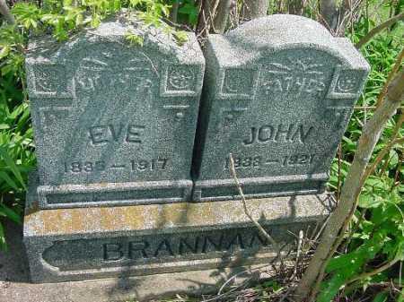 ASHBROOK BRANNAN, EVE - Carroll County, Ohio | EVE ASHBROOK BRANNAN - Ohio Gravestone Photos