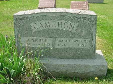 CRAWFORD CAMERON, GRACE - Carroll County, Ohio | GRACE CRAWFORD CAMERON - Ohio Gravestone Photos