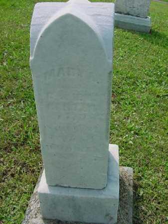 CARTER, MARY A. - Carroll County, Ohio   MARY A. CARTER - Ohio Gravestone Photos