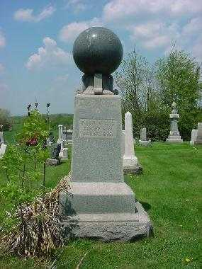COX, MONUMENT - Carroll County, Ohio   MONUMENT COX - Ohio Gravestone Photos