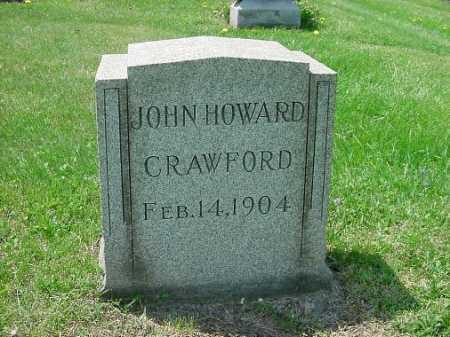 CRAWFORD, JOHN HOWARD - Carroll County, Ohio   JOHN HOWARD CRAWFORD - Ohio Gravestone Photos