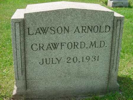 CRAWFORD, LAWSON ARNOLD, M.D. - Carroll County, Ohio | LAWSON ARNOLD, M.D. CRAWFORD - Ohio Gravestone Photos