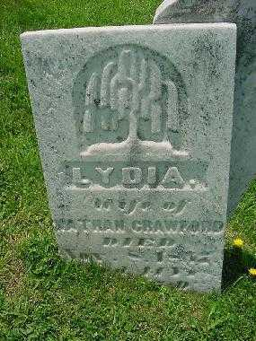 CRAWFORD, LYDIA - Carroll County, Ohio   LYDIA CRAWFORD - Ohio Gravestone Photos