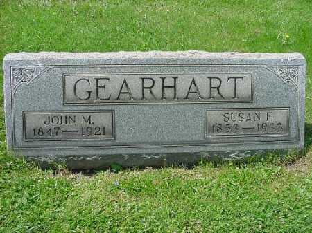 DEARHART, SUSAN F. - Carroll County, Ohio | SUSAN F. DEARHART - Ohio Gravestone Photos