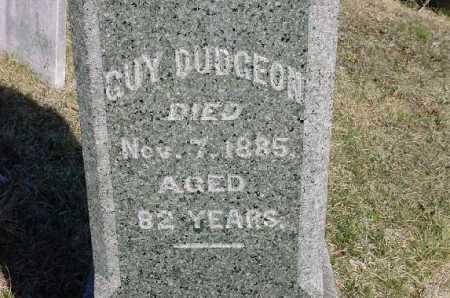 DUDGEON, GUY - Carroll County, Ohio   GUY DUDGEON - Ohio Gravestone Photos