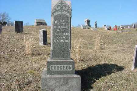 DUDGEON, MONUMENT - Carroll County, Ohio   MONUMENT DUDGEON - Ohio Gravestone Photos