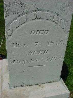 DUMBLETON, JOHN - Carroll County, Ohio | JOHN DUMBLETON - Ohio Gravestone Photos