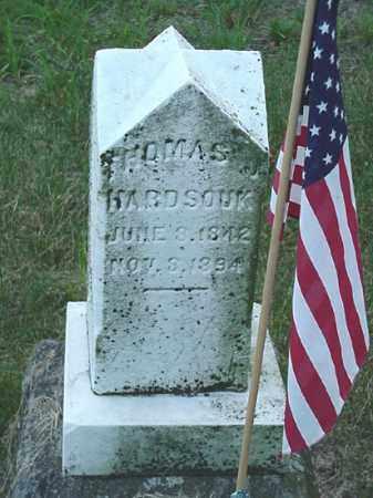 HARDSOUK, THOMAS J. - Carroll County, Ohio | THOMAS J. HARDSOUK - Ohio Gravestone Photos