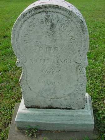 JACKMAN, ADAM - Carroll County, Ohio   ADAM JACKMAN - Ohio Gravestone Photos
