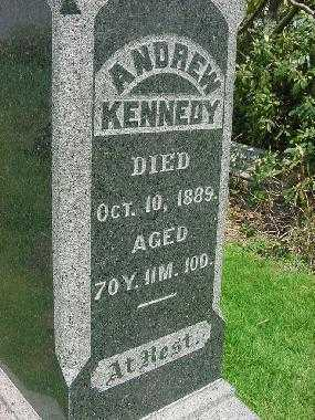 KENNEDY, ANDREW - Carroll County, Ohio   ANDREW KENNEDY - Ohio Gravestone Photos