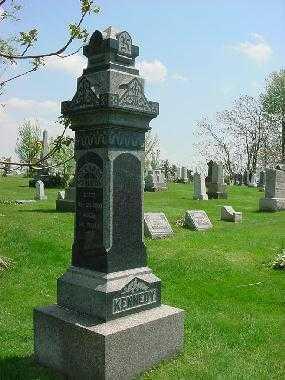 KENNEDY, MONUMENT - Carroll County, Ohio   MONUMENT KENNEDY - Ohio Gravestone Photos