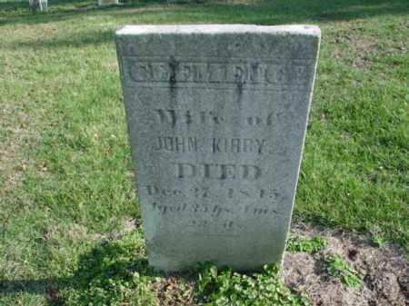 KIRBY, CLEMENCY - Carroll County, Ohio   CLEMENCY KIRBY - Ohio Gravestone Photos