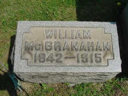 MCGRANAHAN, WILLIAM - Carroll County, Ohio   WILLIAM MCGRANAHAN - Ohio Gravestone Photos