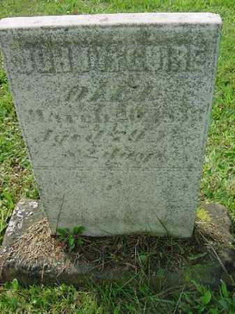 MCGUIRE, JOHN - Carroll County, Ohio   JOHN MCGUIRE - Ohio Gravestone Photos