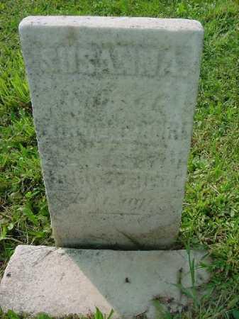 MCGUIRE, SUSANNA - Carroll County, Ohio   SUSANNA MCGUIRE - Ohio Gravestone Photos