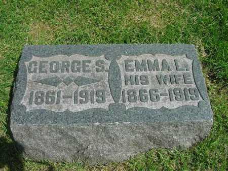 MCMILLIN, EMMA L. - Carroll County, Ohio | EMMA L. MCMILLIN - Ohio Gravestone Photos