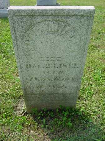 MILLER, ISAAC - Carroll County, Ohio   ISAAC MILLER - Ohio Gravestone Photos