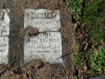 PHILLIPS, REUBEN - Carroll County, Ohio | REUBEN PHILLIPS - Ohio Gravestone Photos